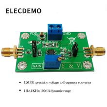 Precision Voltage-to-Frequency Converter LM331 12-Bit Digital Resolution Frequency-Frequency Conversion Module 1Hz-10K 99% new used for air conditioning power module frequency conversion board 0010400475 kfr 25gw 2 bpf good working