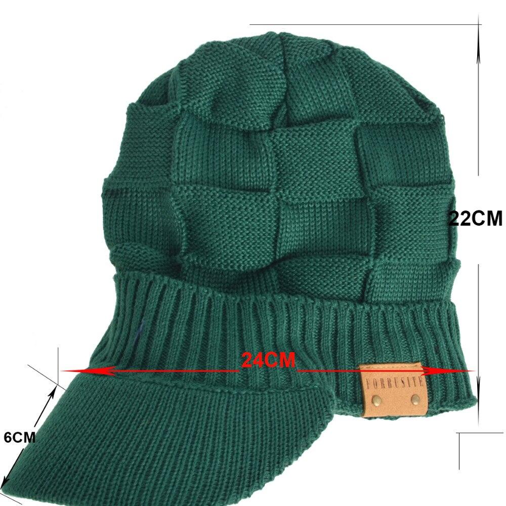 a7364b00c8b Hisshe mens invierno newsboy sombreros sólido clásico casual visor ...