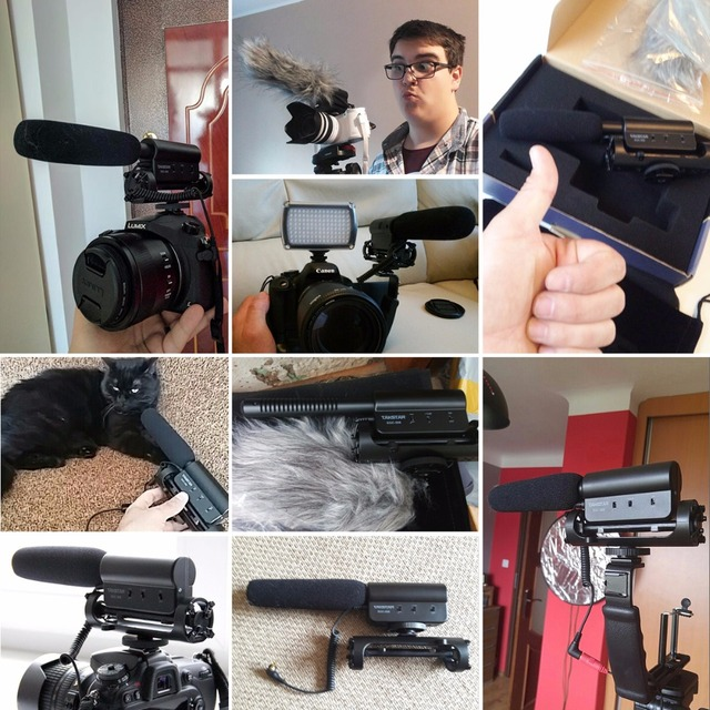 for Youtube Vlogging Video Shotgun MIC for Nikon Canon DSLR microphone sgc 598 Takstar SGC-598 Photography Interview Microphone