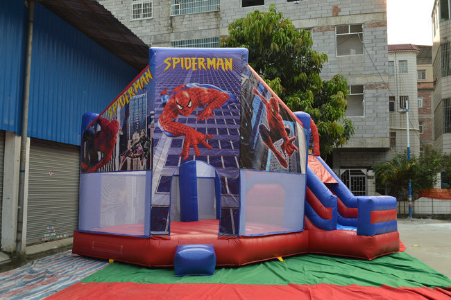 Customized Inflatable Bouncing House , Bouncy Slide