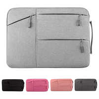 Fashion Laptop Bag For Macbook Air Pro Retina 11 12 13 14 15 15.6 inch Laptop Sleeve Case PC Tablet Case Covers For Xiaomi Air