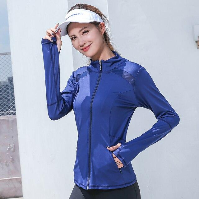 2020 Fashionable Sports Jacket for Yoga  4