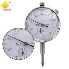 Шкала индикатор 0-10 мм метр точный 0,01 разрешение концентричность тест