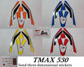 Free shipping motorcycle TMAX 530 T-MAX 530 TMAX530 a decal sticker, send 3M dimensional stickers