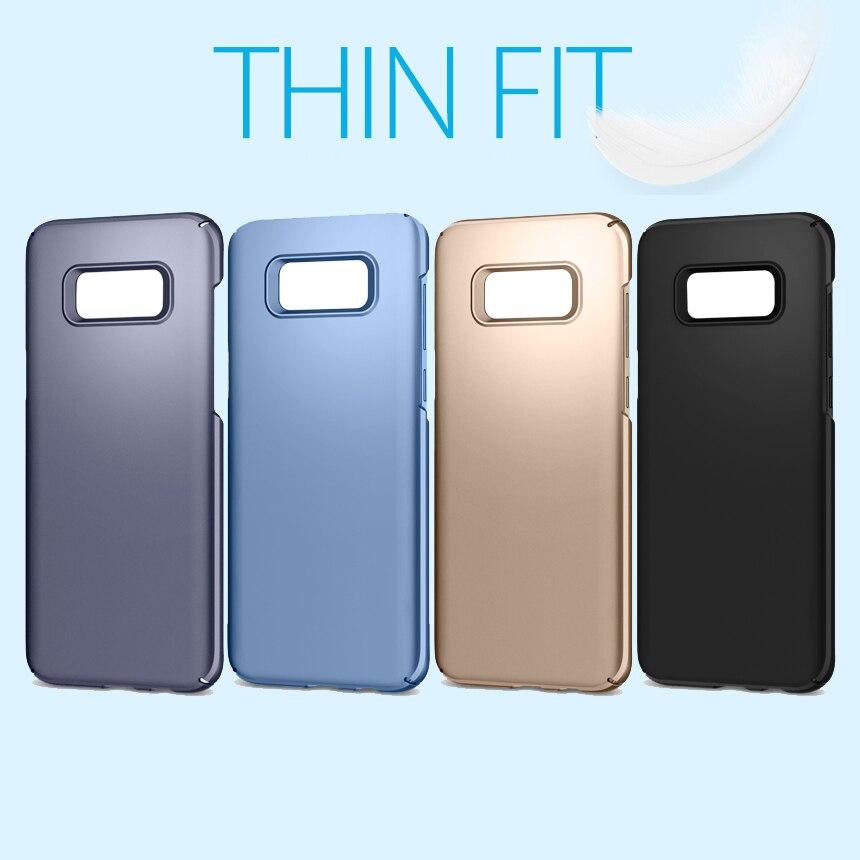 5.8 Оригинальный тонкий подходят чехол для Galaxy S8 Ultra Slim Fit легкий жесткий кожи Обложка для Samsung Galaxy s8 5.8 дюймов