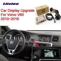 Liislee Новинка парковки Камера Интерфейс заднего вида Камера Наборы для Volvo V60 2010 ~ 2016 Дисплей обновления