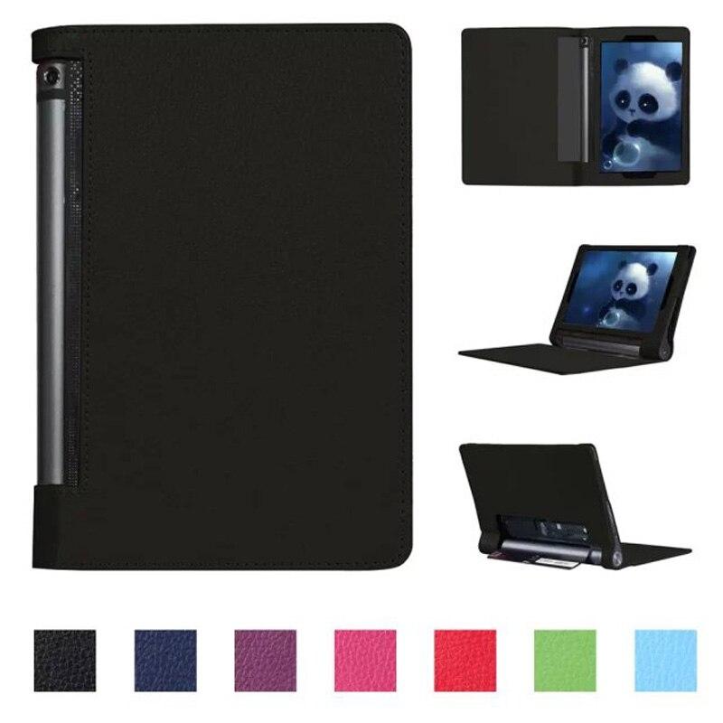 Luxury Cover for Lenovo Yoga Tablet 3 10 Case,Flip PU Leather Kickstand Case for Lenovo yoga tab 3 10 YT3-X50 10.1inch+Stylus new original for lenovo thinkpad yoga 13 13 3 bottom base lower case cover silver 11s30500171