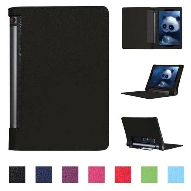 """Luxury Cover for Lenovo yoga tablet 3 10 Case,Flip PU Leather Kickstand Case for Lenovo yoga tab 3 10 YT3-X50 10.1""""inch+Stylus"""
