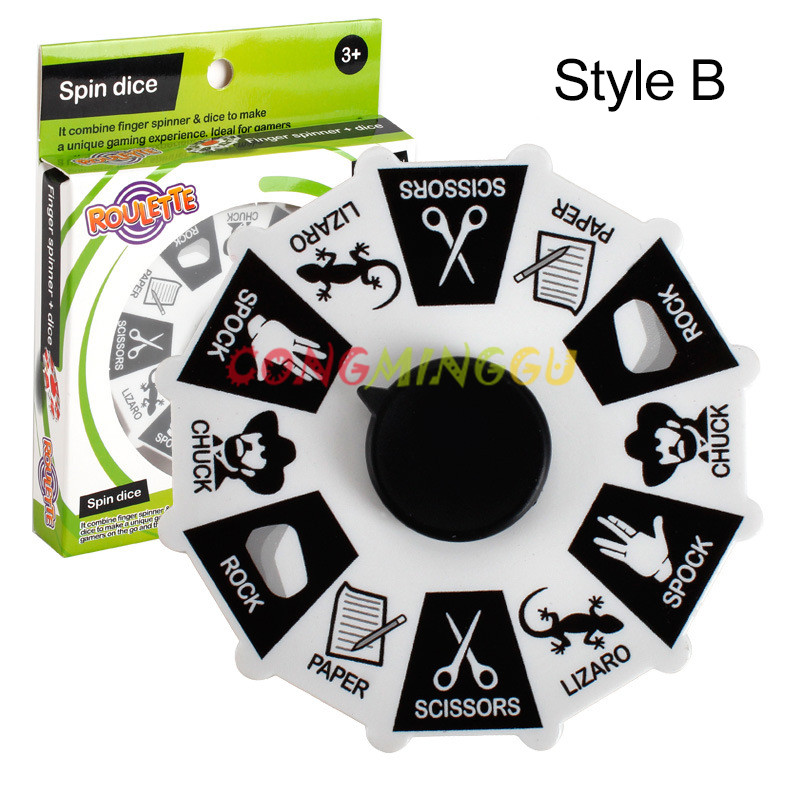2017 New Fid spinner creative de pression gyro adventure game