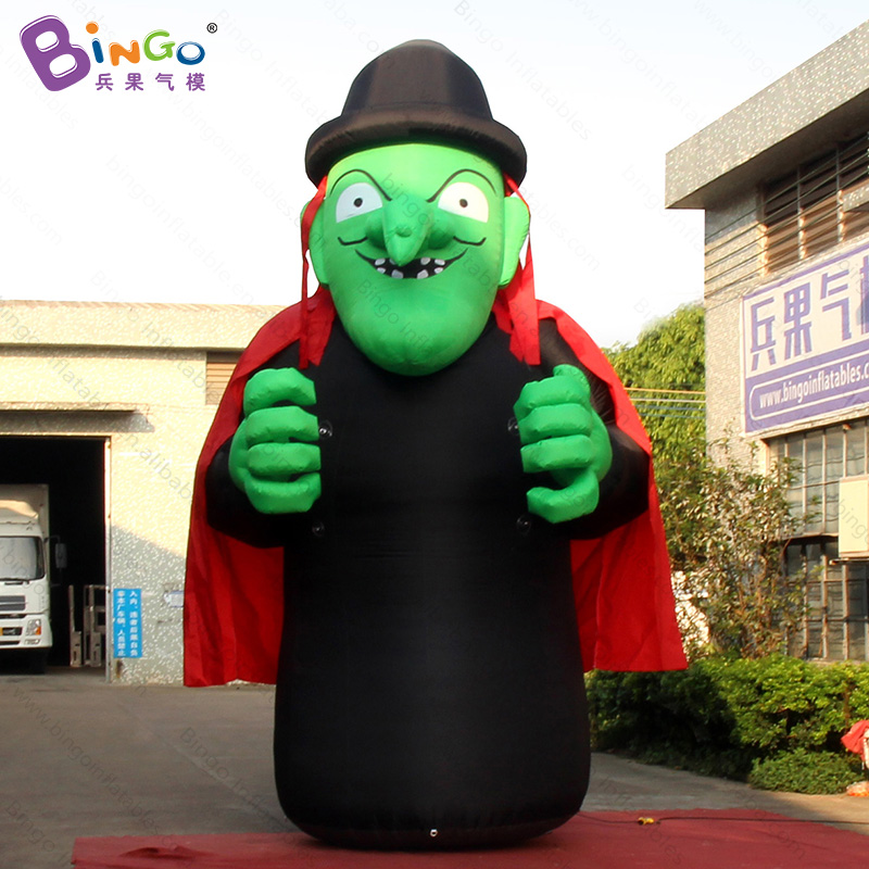 halloween decoration 5 meters tall inflatable witch figure toy