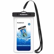 Плавающие Водонепроницаемый чехол для телефона, универсальный подводный ТПУ водонепроницаемый чехол для мобильного телефона чехол для iPhone X/8 плюс/8/7/6, samsung Примечание 8/S8 +/S8