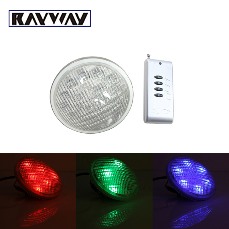 54W RGB Par 56 Pool Light IP68 Waterproof led piscina luzes AC DC 12V Outdoor led