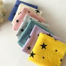 Star Printed Cotton Neck Gaiter for Kids