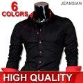 Mens Fashion Cotton Designer Cross Line Slim Fit Dress man Shirts Tops Western Casual S M L XL 2028