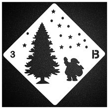 Merry Christmas Tree Sticker Painting Stencils for Diy Scrapbooking Stamps Home Decor Paper Card Template Decoration Album Craft merry christmas tree sticker painting stencils for diy scrapbooking stamps home decor paper card template decoration album craft