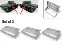 Mato Metal Storage Box Set Of 3pcs For 1 16 1 16 RC Russian KV 1