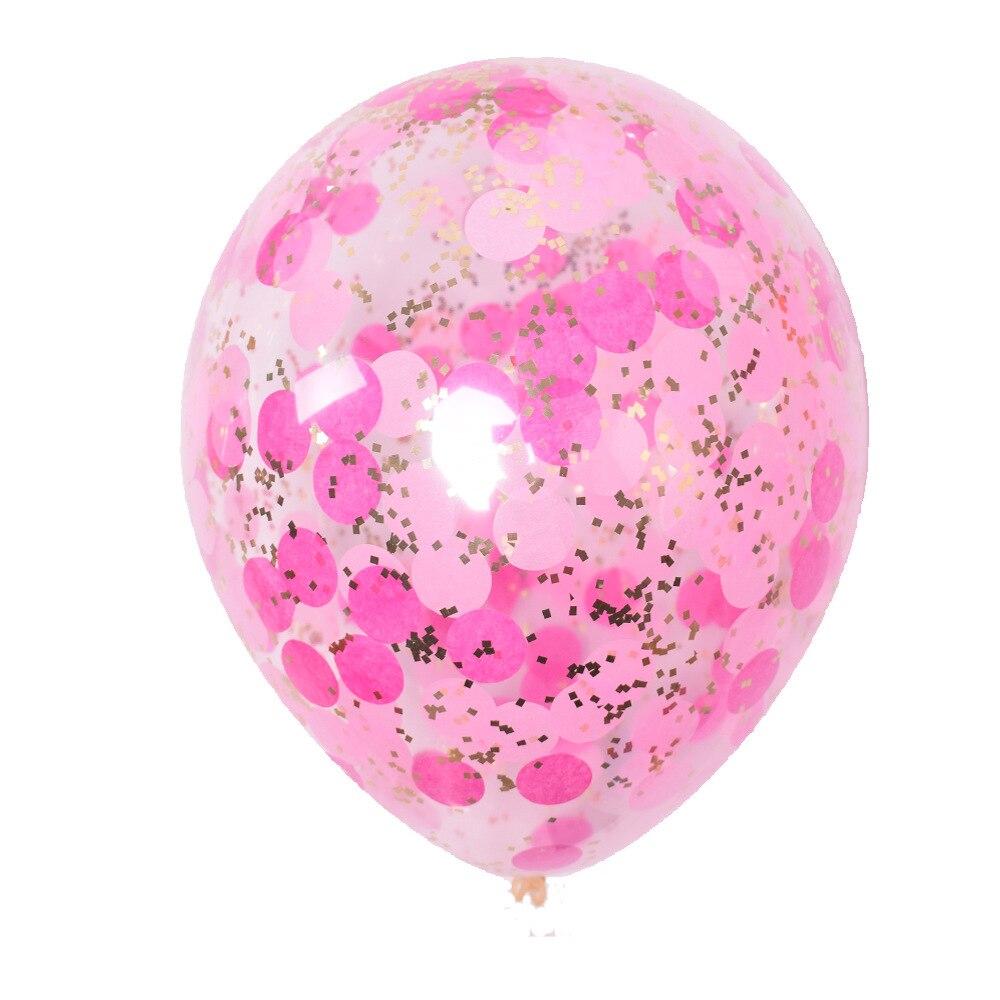 5 шт./лот золотые блестки воздушные шары конфетти Прозрачные Шары с днем рождения ребенка мультфильм шляпа Свадебная вечеринка украшения - Цвет: 5