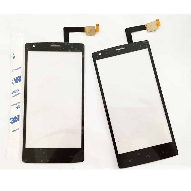 10 Pcs/lot, Touch Screen Sensor Glass For Fly iq 4505 iq4505 quad era life 7 Touch Panel Front Glass Replacement