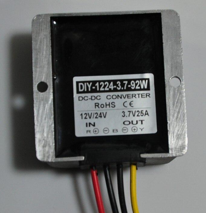 цена на Converter DC 12V 24V 36V (6.5V-40V) Step Down 3.7V 25A 92W DC Buck Module Car Power Adapter Voltage Regulator Waterproof