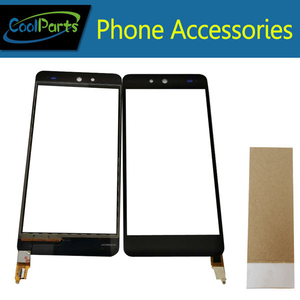 1PC/Lot High Quality For Micromax Canvas Juice 3 Q392 Touch Screen Digitizer Touch Panel Lens Glass With Tape Black Color