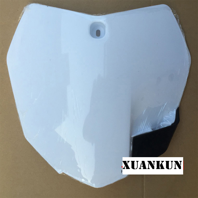 XUANKUN Off-Road Motorcycle Accessories K7 K6 Number Card Score Card Modified Number Plate ...