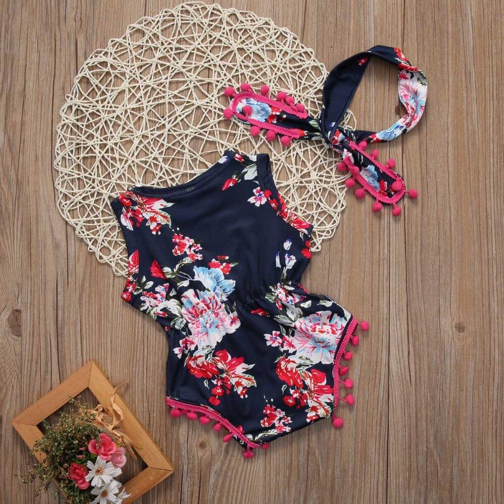 Fashion-Printing-Cute-Nouveau-ne-Cotton-Enfant-Bebe-Florales-Pour-Filles-Combinaison-Grenouillere-Maillots-3