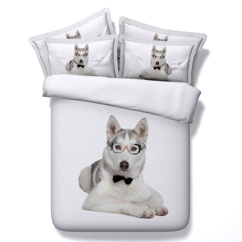3d Dog Print Comforter Sets Bedding Set Duvet Cover Bed In