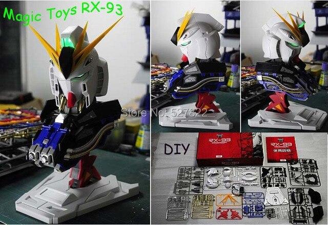 New Action Figure Magic Toys 1 35 Scale Rx 93 Nu Gundam Head Plastic