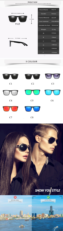 HTB1L9KWbH I8KJjy1Xaq6zsxpXav - Polarized 2018 New Hot Brand Designer Sunglasses Men Women For Car Driving Squared Rayed Mirror Sun Glasses Male Femlae Cool