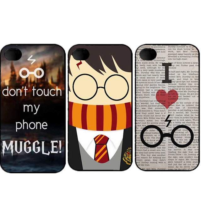 Pretty Interesting Harry Potter Funny Character Phone Case For iPhone SE 4s 5 5s 5c 6 6S 6plus 7 7Plus