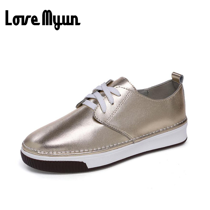 2017 brand new fashion spring women leather lace Up and slip on shoes flat casual student glirs shoes Bright surface shoes XA-75 hot sale 2016 new fashion spring women flats black shoes ladies pointed toe slip on flat women s shoes size 33 43