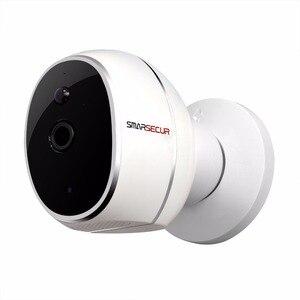 Image 4 - SMARSECUR كاميرا IP خالية من الأسلاك 720P HD لا سلك 6400mAh 8 أشهر بطارية الأمن واي فاي كاميرا IP لاسلكية مع البطارية