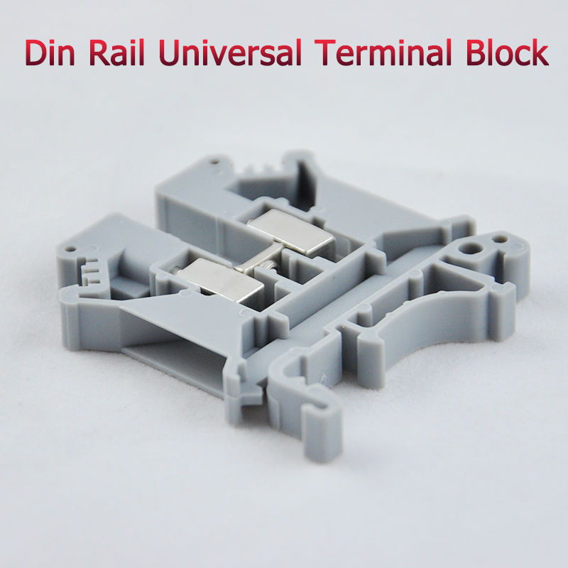 10pcs UK-5N DIN Rail Universal Terminal Blocks Screw Type UK5N Phoenix Type