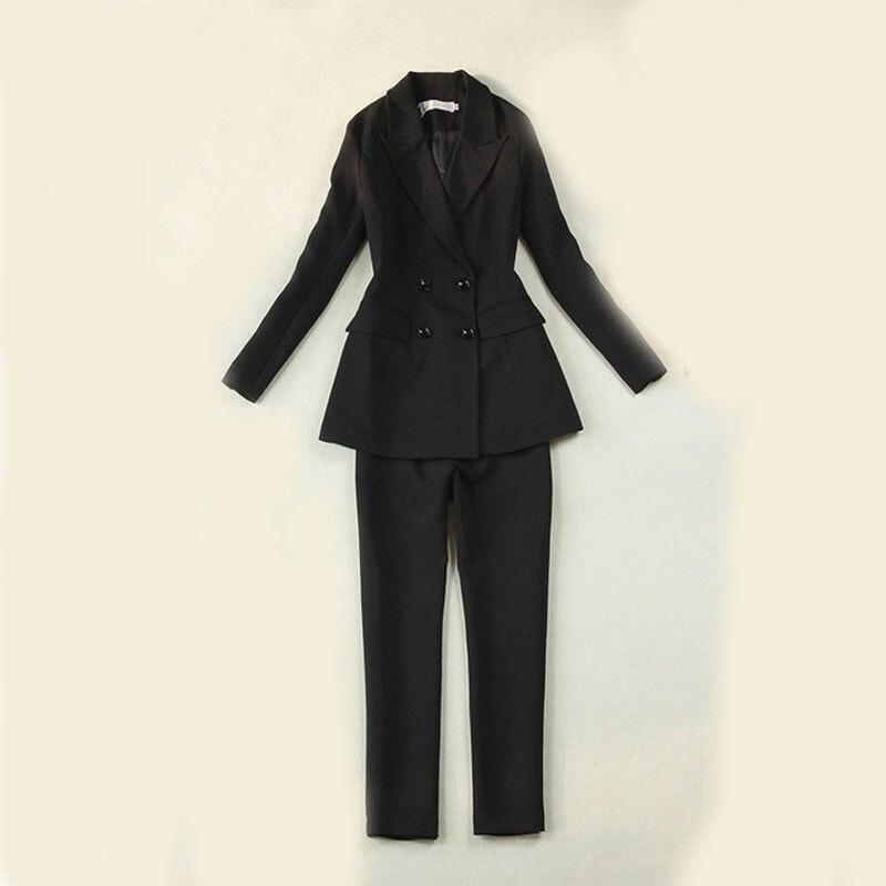 002ee9996902 Женский костюм 2019 Новый Стиль Высокая мода темперамент костюмы ...