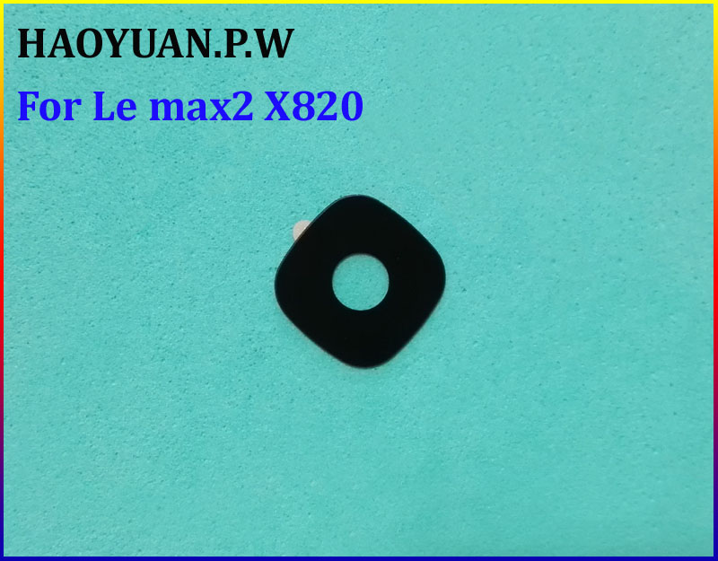 Radient 2pcs/lot Haoyuan.p.w New Original Housing Rear Back Camera Glass Lens With Adhesive For Letv Leeco Le Max2 Max 2 X820 Fast Ship Available In Various Designs And Specifications For Your Selection Phone Bags & Cases