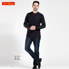 VA 2017 fall winter men's knitted turtleneck casual sweater coat cardigans oversize wool cashmere sweater dark grey 2018 VA