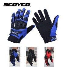 Новый SCOYCO MX47 женский и мужской Мотоцикл перчатки защитные мотоцикл moto мотоциклист байкер велосипедов велоспорт перчатки рукавицы