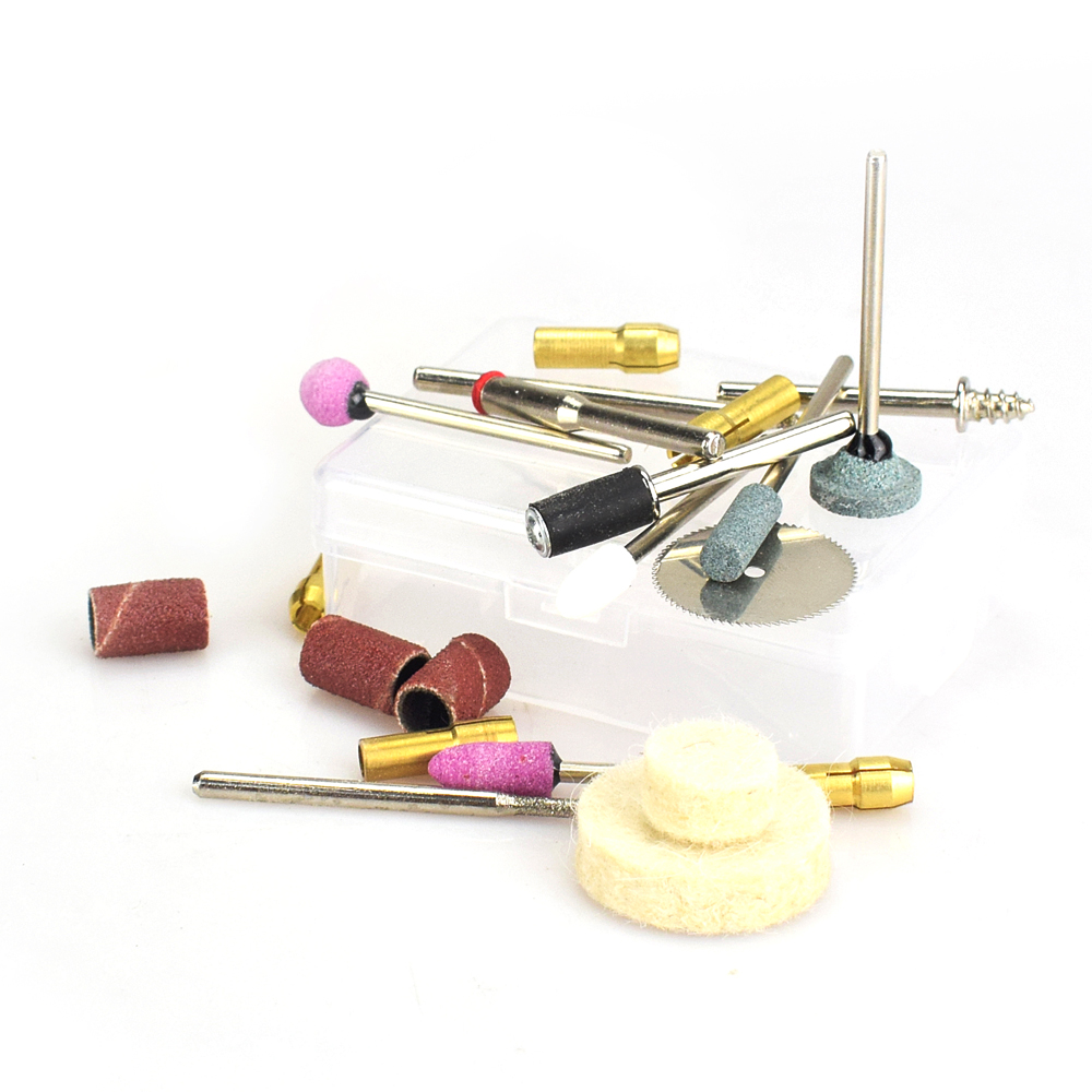 Mini Wireless Variable Speed Electric Grinder Set