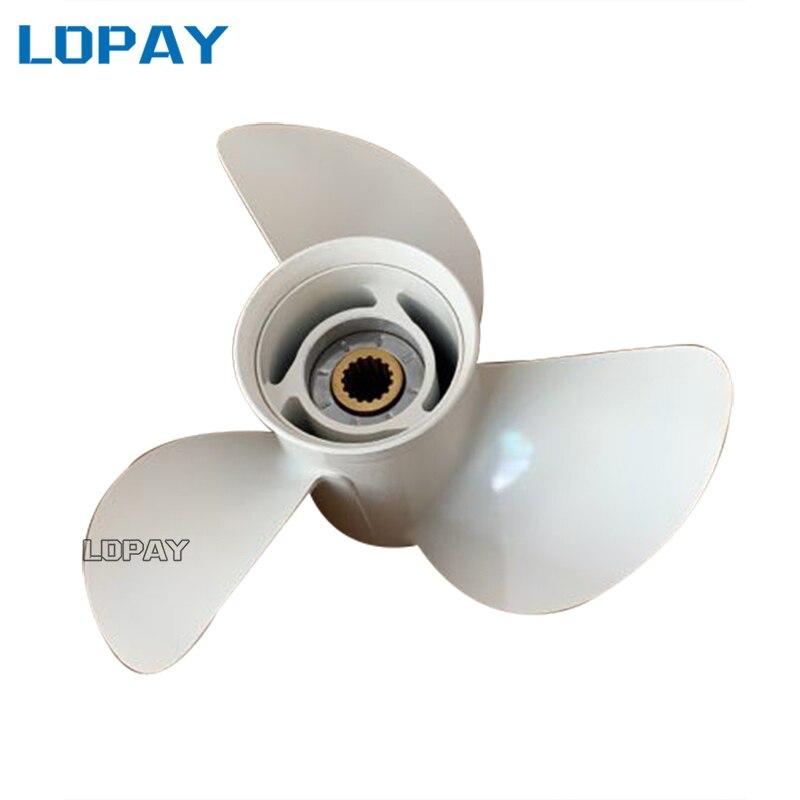 6E5 45945 01 EL 00 aluminum alloy propeller 13 1 4x17 K for Yamaha 75HP 85HP
