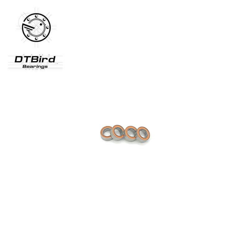 Free Shipping SMR84 2RS CB ABEC7 4x8x3mm Stainless steel hybrid ceramic SI3N4 ball bearing wheel hub bearing 15267 2rs 15 26 7mm s15267 2rs ce 15267 stainless steel si3n4 hybrid ceramic bearing