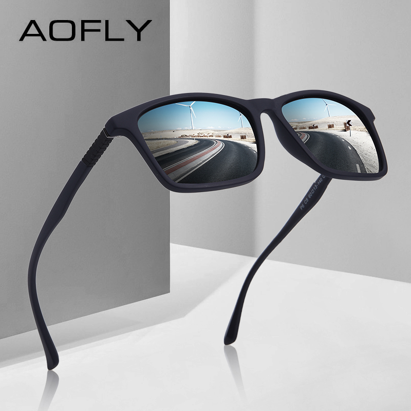 AOFLY MARKE DESIGN Mode Polarisierte Sonnenbrille Männer Ultraleicht ...