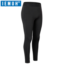 IEMUH Brand Long Johns Autumn Winter Warm Pants Women Quick Dry Anti-Bacterial Stretch Warm Thermal Underwear Women Long Johns(China)