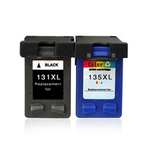 Ink Cartridges For HP131 135 For HP460 5743 5940 5943 6843 6940 Photosmart 2573 2613 8753