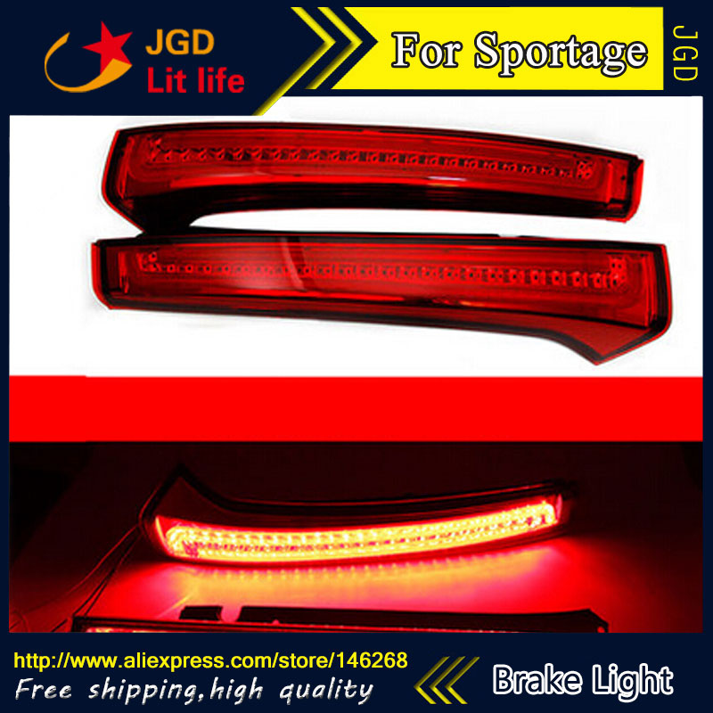 Free shipping Tail light parking warning rear bumper reflector for KIA Sportage 2013 Car styling гель д унитаза баги жавель лимон 650мл