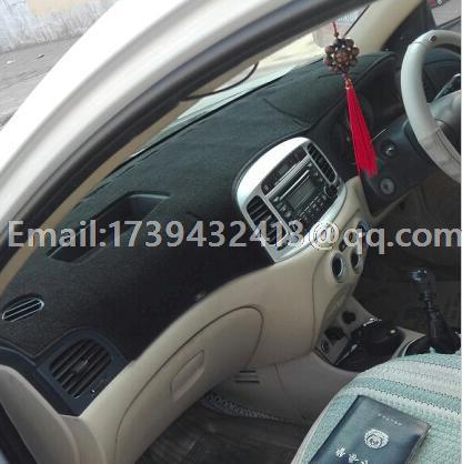 car dashmats car-styling accessories dashboard cover for Hyundai Accent Era Brio Avega Verna 2005 2006 2007 2008 2009 2010 rhd