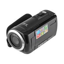 Portable 1080P HD Video Camera 16MP 16x Zoom 2.7'' TFT LCD Digital Video Camcorder Camera DV DVR Black Red Perfect Gift Hot Sale