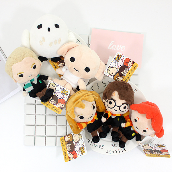 Harry Potter Muppets: 10 15cm Kawaii Style Harry Potter Movie Puppet Plush Chain