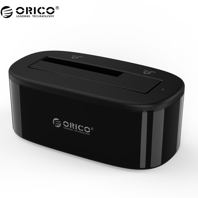 ORICO 6218US3 HDD Docking Station 5Gbps Super Speed USB 3.0 to SATA Hard Drive Docking Station for 2.5/ 3.5 Hard Drive
