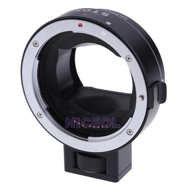 NI5L Commlite Адаптер AF для Canon EOS EF EF-S объектив с Sony NEX E крепление Камеры