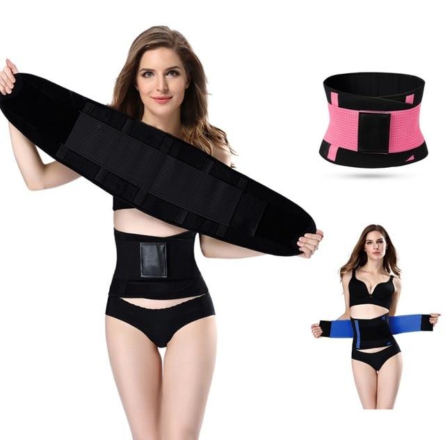 a29f890d9b hot shapers women slimming body shaper waist Belt girdles Firm Control  Waist trainer corsets plus size Shapswear modeling strap